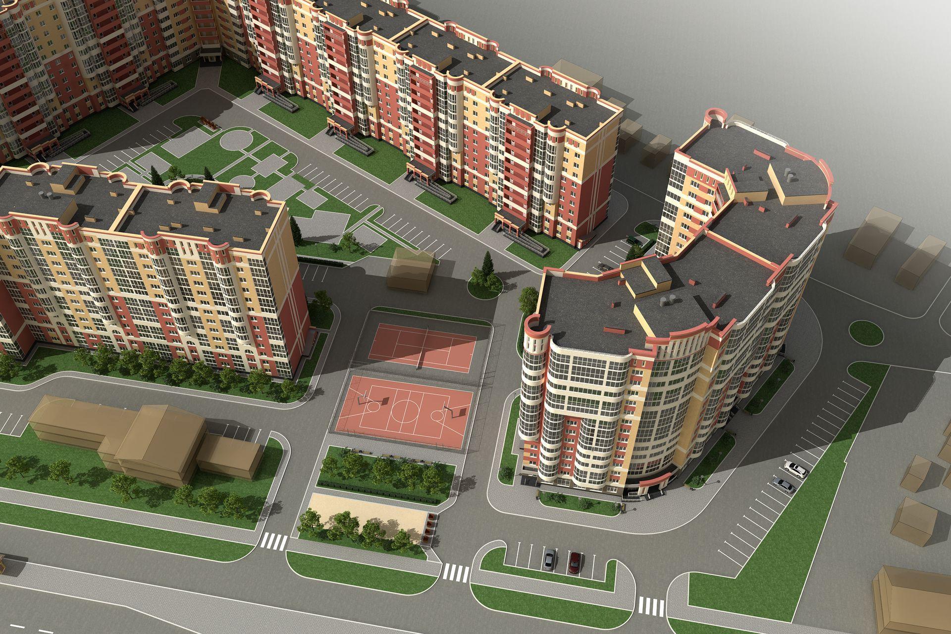 Проект жилого многоквартирного дома
