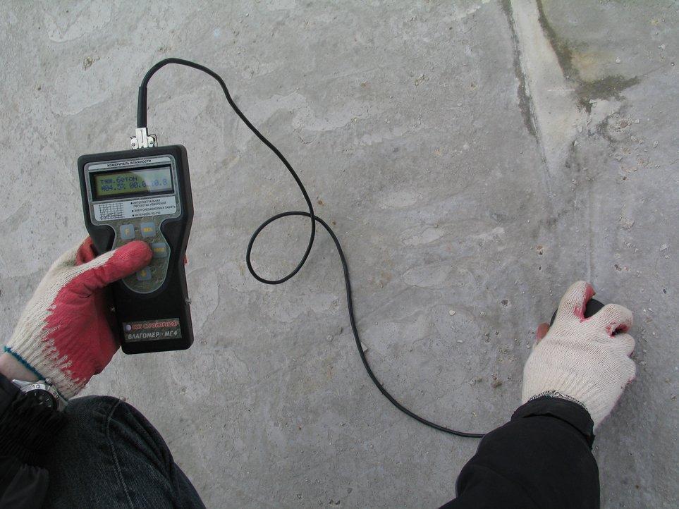 Определение местоположения арматуры и толщины защитного слоя бетона