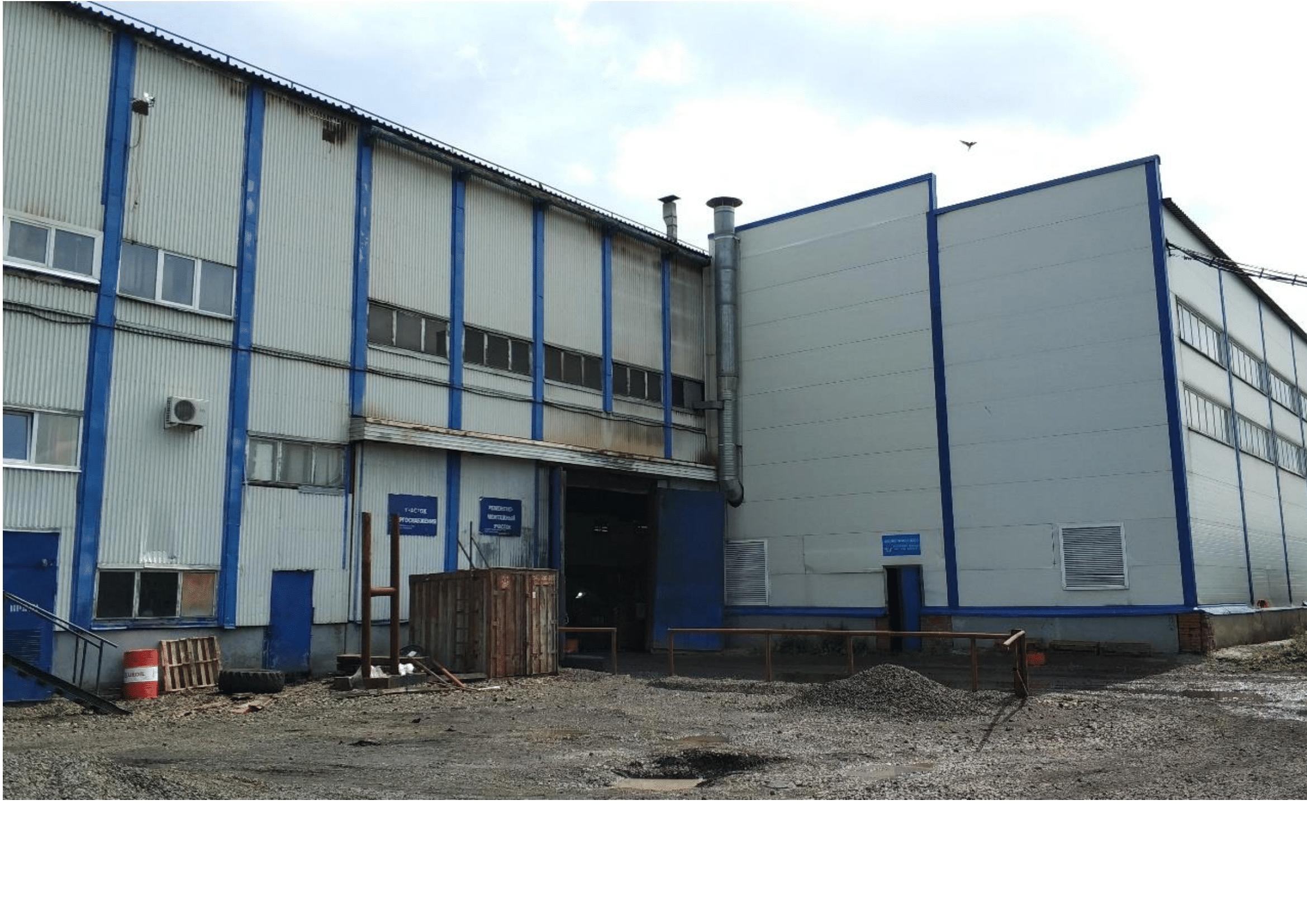 Проект промышленного объекта с функцией гаража-стоянки