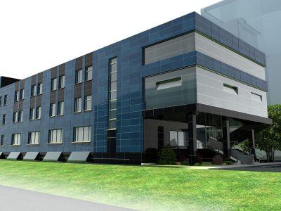 Проект офисного центра